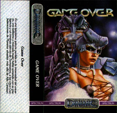 Game Over - Escaneo de la carátula